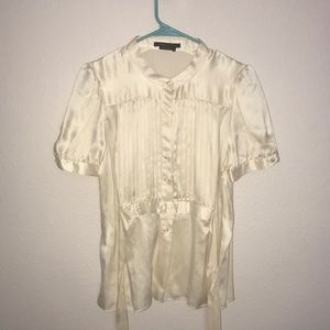 100% silk blouse by BCBG